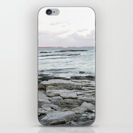 Frozen Maine Ocean iPhone Skin