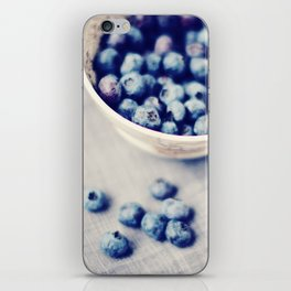 Fresh Blueberries Kitchen Art iPhone Skin