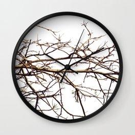 Tree branches no.3 Wall Clock