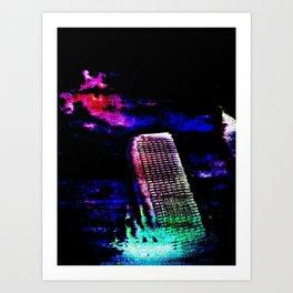 Etheric Degeneration Art Print