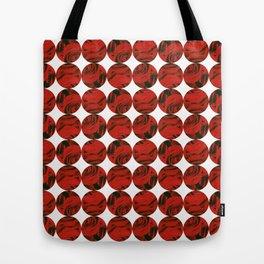 Roses (red) Tote Bag