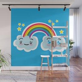 Happy Sappy Rainbow Wall Mural