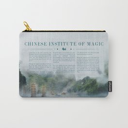 Wizarding Schools Around the World: China Carry-All Pouch