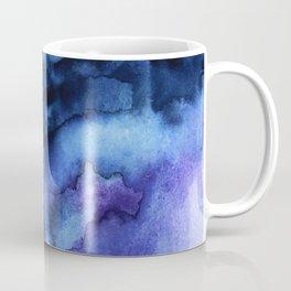 Abstract Indigo Purple Mountians Coffee Mug