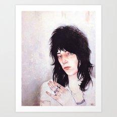 Patti Smith Art Print