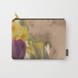 Girl Smells Tulip Carry-All Pouch