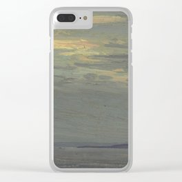 Tom Thomson Giant's Tomb, Georgian Bay 1914 Canadian Landscape Artist Clear iPhone Case