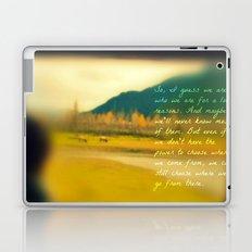 Traveling Inspiration  Laptop & iPad Skin