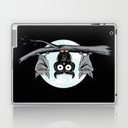Cute Owl With Friends Laptop & iPad Skin