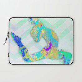 Gymnast Jump Laptop Sleeve