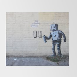 Banksy, Robot Throw Blanket