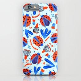 Classic Ladybug Botanical  iPhone Case