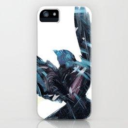 Lily Blue, Blue Raven iPhone Case