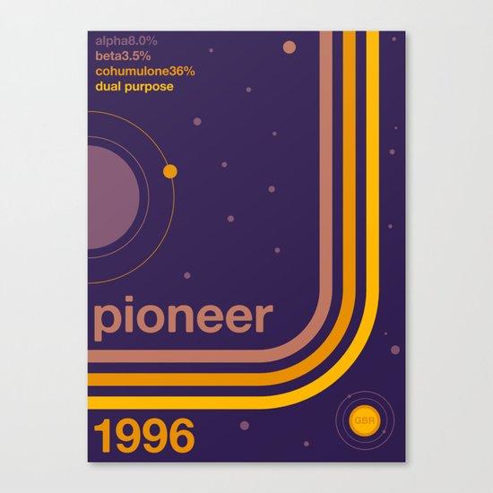 pioneer single hop Canvas Print