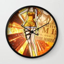Nami - One piece Wall Clock