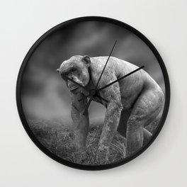 Jambo The Hairless Chimpanzee Wall Clock