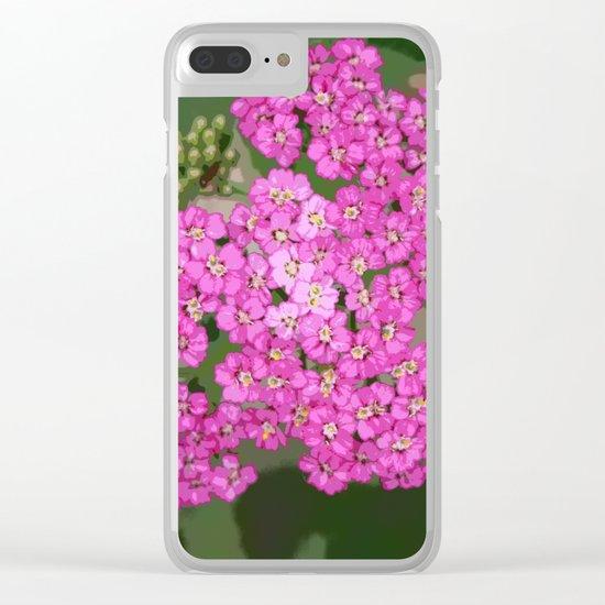 Pretty Pop Pink Clear iPhone Case
