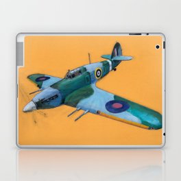 RAF Hawker Hurricane by Dennis Weber of ShreddyStudio Laptop & iPad Skin
