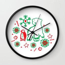 BearFriend Forever Wall Clock