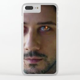 Monster!Eliot Clear iPhone Case