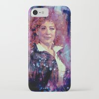 river song iPhone & iPod Cases featuring River Song by Sirenphotos