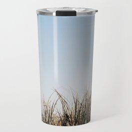 Byron Bay Tallow Beach Tall Grass in the Spring Travel Mug