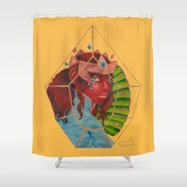 "Horsemen Series: ""Conquest"" Shower Curtain"