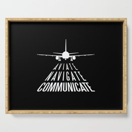 AVIATION QUOTE Serving Tray