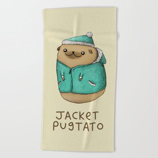 Jacket Pugtato Beach Towel