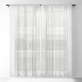 Image of the Invisible Sheer Curtain