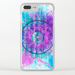Dreamcatcher II Clear iPhone Case