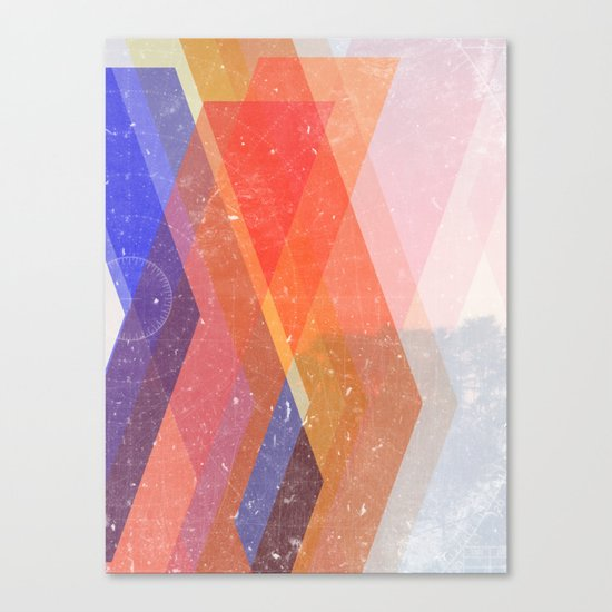 Paths Canvas Print