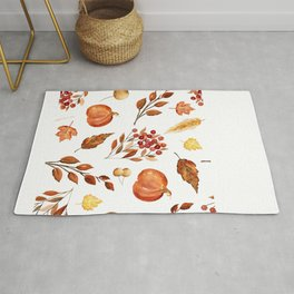 Wheat and Berries Rug