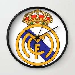 Real Madrid Logo Wall Clock