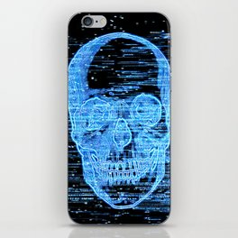 tv horror iPhone Skin