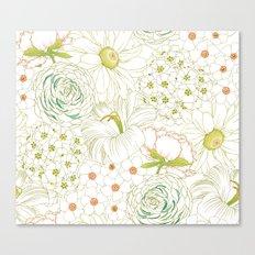 Big Blooms Canvas Print