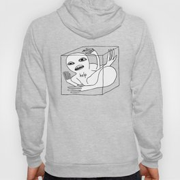 CUBE SQUASHED ALIEN Hoody