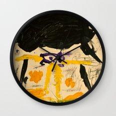 Black Rain Wall Clock