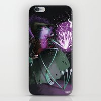 wizard iPhone & iPod Skins featuring Wizard by David Pavon