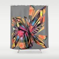 vodka Shower Curtains featuring vodka by Urban Artist