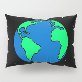Earth And Stars Pillow Sham