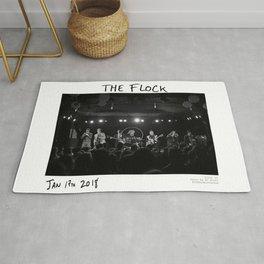 Birds in the Boneyard, Print 10: The Flock Rug