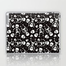 Mexican skull pattern - day of the dead Laptop & iPad Skin