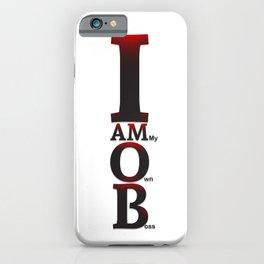I AM O.B. iPhone Case
