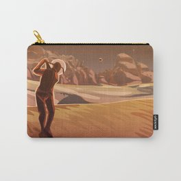 Golfing on Mars Carry-All Pouch