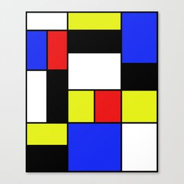 Mondrian #20 Canvas Print