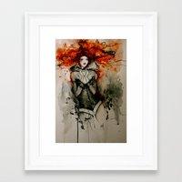 bastille Framed Art Prints featuring Bastille by Stephanie Noblet Miranda