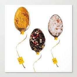 Tasted balloons Canvas Print