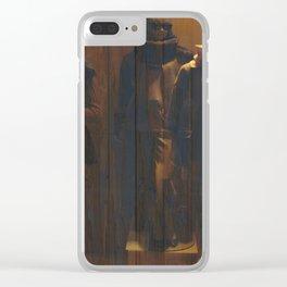 Mannequns 43 Clear iPhone Case