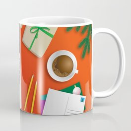 workplace at christmas time Coffee Mug
